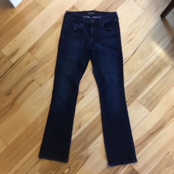 Banana Republic slim bootcut jeans